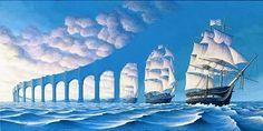 Robert Gonsalves: optical illusion artist