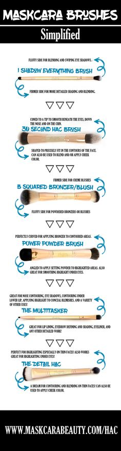6 Makeup Brushes that will take your makeup to the NEXT LEVEL! #facepaintingbusinesstips