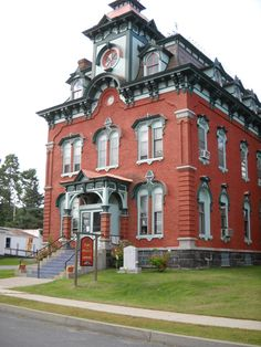 Moriah Town Office Building is a historic town hall building, located at Port Henry in Essex County, New York, built in 1875