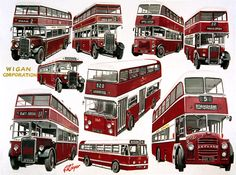 Cooperline: A portfolio of the transport art and photography of W. Cooper and the artwork of D. Road Transport, London Transport, Public Transport, Halfway House, Original Paintings For Sale, Bus Coach, Bus Station, Busses, Commercial Vehicle