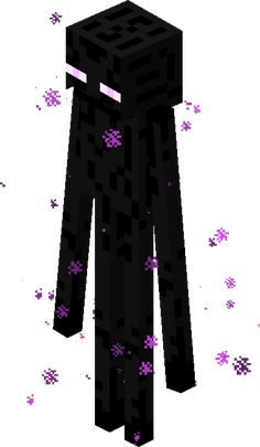 Enderman Is A Creature In Minecraft That Is Dangerous Minecraft Skins Creeper, Minecraft Ender Dragon, Minecraft Spider, Minecraft App, Minecraft Posters, Capas Minecraft, Minecraft Sword, Minecraft Characters, Minecraft Videos