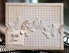 This would make a great guy card. Polkadot b/g stamp to look like pegboard. Fussy cut tool stamps. Sentiment inside? -- by Valerie_AM on flickr