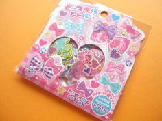 Kawaii Cute Sticker Flakes Sack fuwamo cotton Mind Wave (74854)