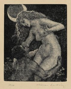 Norman Lindsay, Thief of the Moon.