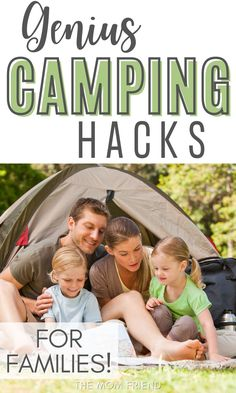 Try these 9 genius camping hacks for families! These are the best ideas for a fun and easy camping trip with kids. Use these ideas when camping in a tent to keep your clothes and shoes dry, to protect your stuff, to stay hydrated, make an easy fire, stay well lit and prepare and preserve your food! #camping #campinghacks #campingideas #family #familycamping #familyvacation #campingtips #campingwithkids #campingforbeginners #campingessentials #campingchecklist Camping With Kids, Family Camping, Travel With Kids, Family Travel, Camping Checklist, Camping Essentials, Camping For Beginners, Flying With A Baby, Family Vacation Destinations