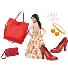 """""""Summer Red"""" by elliott-lucca on Polyvore"""