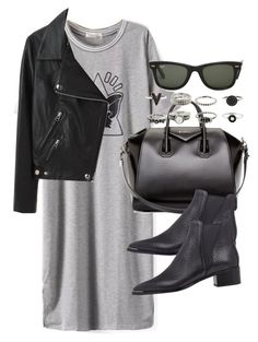Sin título #3083 by hellomissapple on Polyvore featuring polyvore, fashion, style, Acne Studios, Givenchy and Ray-Ban