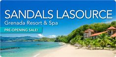 SANDALS LASOURCE Grenada Resort & Spa PRE-OPENING SALE! Sandals LaSource will offer guests a romantic, authentic Caribbean vacation while providing the Luxury Included® amenities and exceptional service that have come to be associated with the Sandals Resorts experience. Book now for a Pre-Opening Sale! For Details Contact http://taylormadetravel.agentarc.com  taylormadetravel142@gmail.com  call 828-475-6227
