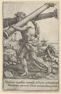 The Pillars of Hercules, from The Labors of Hercules (1550)