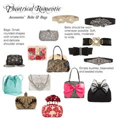 Theatrical Romantic Accessories: Bags, Belts, Hats by winter-belle on Polyvore featuring Betsey Johnson, Alexander McQueen, Miss KG, Marchesa, Valentino, Mint & Rose, Dolce&Gabbana, Natasha Couture, Christian Louboutin and BCBGMAXAZRIA