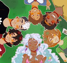 Voltron group by SpaceCatPidge