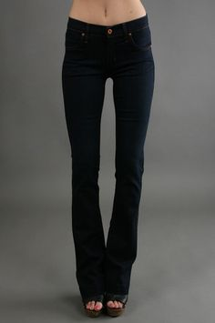 The Slim Trumpet Leg in Liaison by James Jeans at CoutureCandy.com