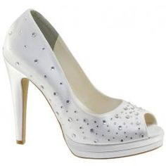 Touch Ups Cyndi Bridal Shoes-Dyeable