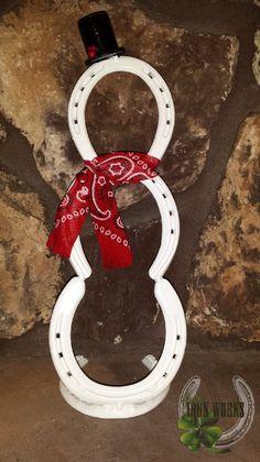 Horseshoe Snowman - Horseshoe Snowman by LuckyIronWorks on Etsy - Welding Crafts, Welding Art Projects, Metal Projects, Metal Crafts, Craft Projects, Blacksmith Projects, Horseshoe Projects, Horseshoe Crafts, Horseshoe Art