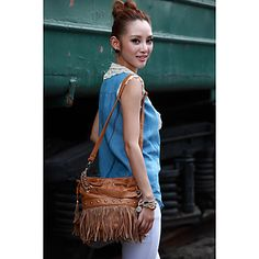Stylish Tassel Crossbody Bag 7561170fc7b20