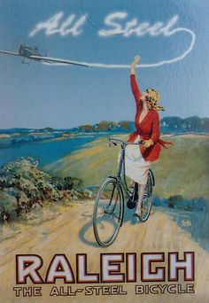Raleigh all steel poster