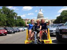 Enjoying a Nonpartisan Pedicab Tour of Washington DC!