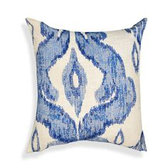Found it at AllModern - Shaded Ikat Cotton Throw Pillow