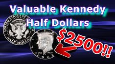 Rare 1968 Kennedy Half Dollar Varieties : 1968 S Proof Half Dollar Coin Worth Money Rare Coins Worth Money, Kennedy Half Dollar, Coin Worth, Key Dates, Dollar Coin, Coin Collecting, Machine Learning, Frugal, How To Make Money