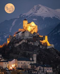 In Sion, Switzerland.
