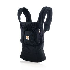 @ergobaby Organic Collection - Marsupio porta-bebè in cotone 100% biologico • Modello: Nero #ergobaby #carrier #babywearing