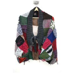 Chunky Hand- Knitted Jacket