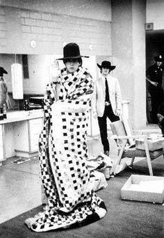 Paul and Ringo backstage in Dallas, Texas
