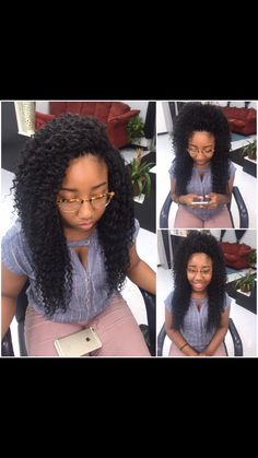 Hairstyles For Curly Crochet Hair - Hairstyles Trends Crochet Hair Styles crochet hair styles with curly hair Curly Crochet Hair Styles, Crochet Braid Styles, Curly Hair Styles, Natural Hair Styles, Crochet Twist, Crotchet Braids, Crochet Braids Hairstyles, Braided Hairstyles, Protective Hairstyles