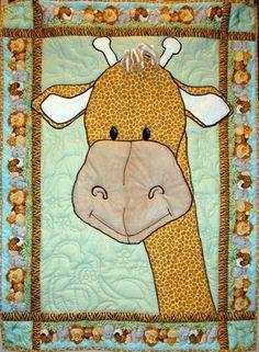 Cute giraffe  Quilt