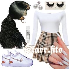 Message For More Outfit Ideas🧚🏽♀️ Baddie Outfits Casual, Boujee Outfits, Swag Outfits For Girls, Cute Teen Outfits, Teenage Girl Outfits, Cute Comfy Outfits, Girls Fashion Clothes, Teen Fashion Outfits, Dope Outfits