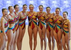 Synchronized Swimming suit