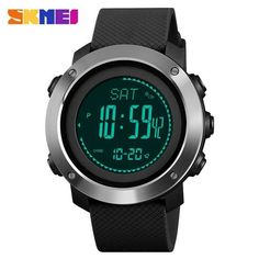 1b42017bf Mens Sports Watches Compass Watch Thermometer Altimete Digital Wristwatches  Mens Sports Watches Compass Watch Thermometer Altimete
