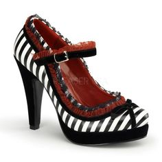 These shoes are straight out of Wonderland!!!!! But would I be Alice or the Red Queen? <3 them!