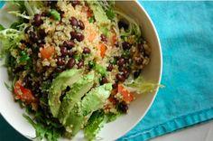 Black Bean & Tomato Quinoa Salad