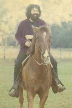 Jerry horsin' around