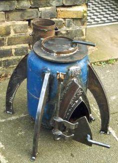 gas bottle wood heater - Google Search