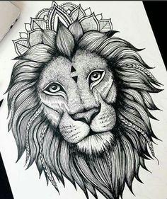 Le roi des animaux dans toute sa puissance