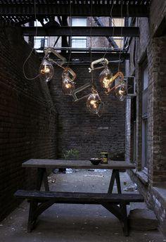 Lindsey Adelman clamp lights