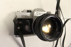 CANON Brand FTb  QL 35 MM Camera With 50 MM 1:4 Canon Lens Photography