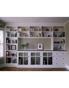 built-ins with storage space