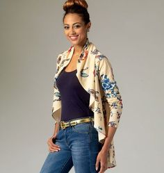 Purchase McCall s 7055 Misses  Vest and Cardigans and read its pattern  reviews. Find other 5a6212587