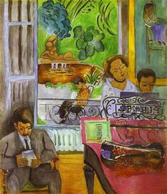 Henri Matisse >> The Music Lesson
