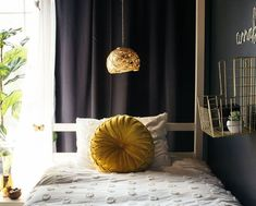 Check out these bedroom decor projects on a dime. Make your master bedroom cozy with these cheap and easy DIYdecor ideas. #hometalk Farmhouse Pendant Lighting, Globe Pendant Light, Pendant Lamp, Bar Stool Makeover, Diy Cornhole Boards, Concrete Bird Bath, Hollow Core Doors, Diy Light Fixtures, Home Upgrades