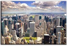 Tapeta Nowy Jork z Lotu Ptaka