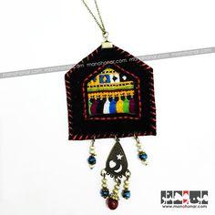 گردنبند سوزندوزی همای: جهت آگاهي از جزئيات اين محصول و چگونگي خريد آن، لطفا به فروشگاه اينترنتي صنايع دستي من و هنر مراجعه فرماييد. www.manohonar.com Drop Earrings, Christmas Ornaments, Holiday Decor, Jewelry, Home Decor, Bijoux, Room Decor, Drop Earring, Jewlery
