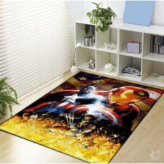 Avanger Captain America Poster Image Blanket