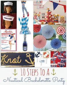 Bachelorette, Hen Party, Hen Do, Nautical, Sailor
