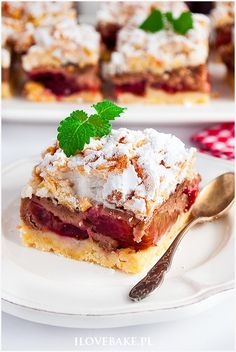 Polish Desserts, Polish Recipes, Something Sweet, Tart, French Toast, Deserts, Good Food, Food And Drink, Cooking Recipes