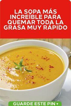 Sopa de tomate para adelgazar rapido