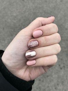 nails - perfect winter nail designs to make you feel warm 4 - Cute Summer Nail Designs, Winter Nail Designs, Short Nail Designs, Simple Nail Designs, Nail Art Designs, Nails Design, Blog Designs, Winter Nails, Summer Nails